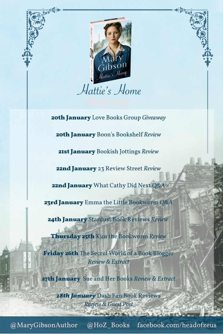 Hattie's Home blog tour