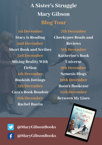 Sister's Struggle blog tour poster